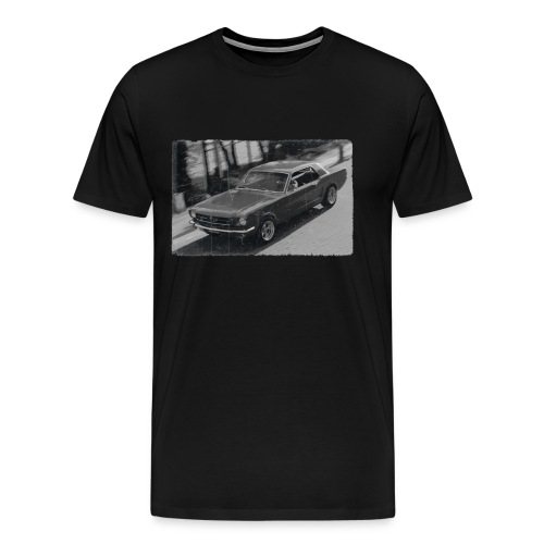 Car Vintage Design - Männer Premium T-Shirt