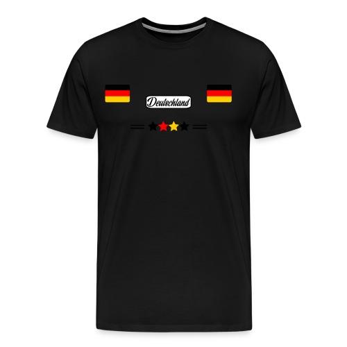 Fußball, Emblem, Weltmeisterschaft Fan Deutschland - Männer Premium T-Shirt