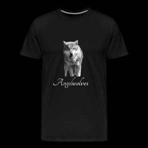 Wolfskopf Angelwolves - Männer Premium T-Shirt