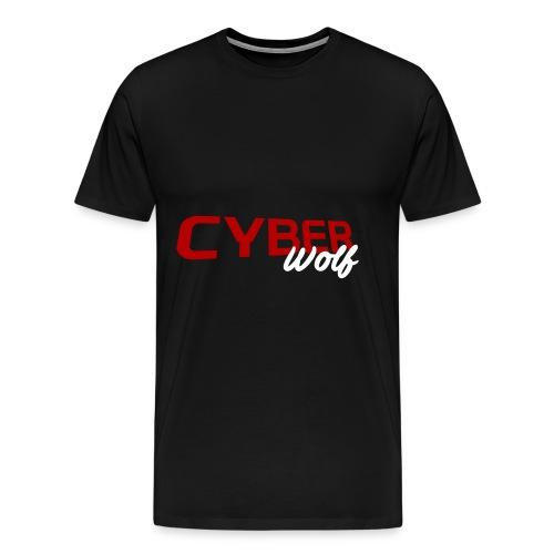 T-shirt Zwart - Mannen Premium T-shirt