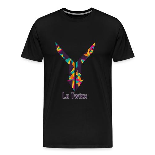 Logo LaTwixx & Schriftzug - Männer Premium T-Shirt