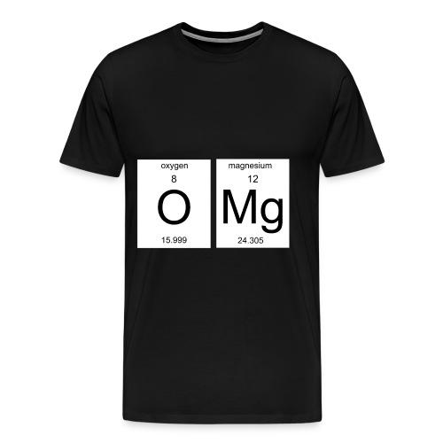 OMG Nerd Geschenk Geschenkidee - Männer Premium T-Shirt