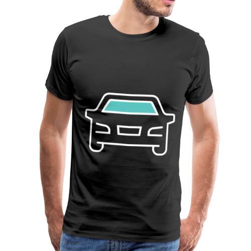 Bil - Premium T-skjorte for menn