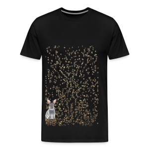 rabbit droppings mogosop - Mannen Premium T-shirt