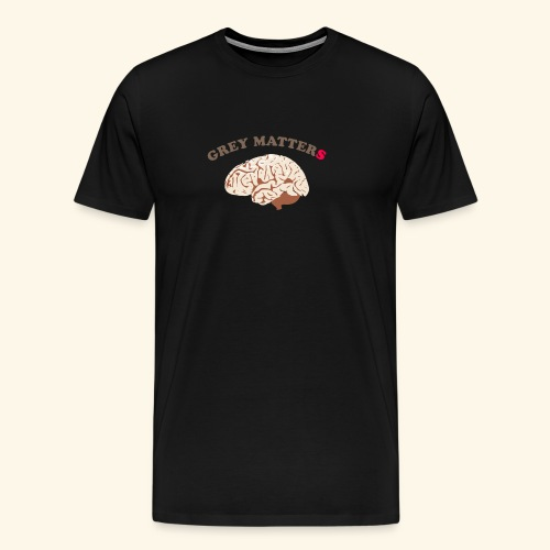 Intelligence, bright, smart mind, it matters - Men's Premium T-Shirt