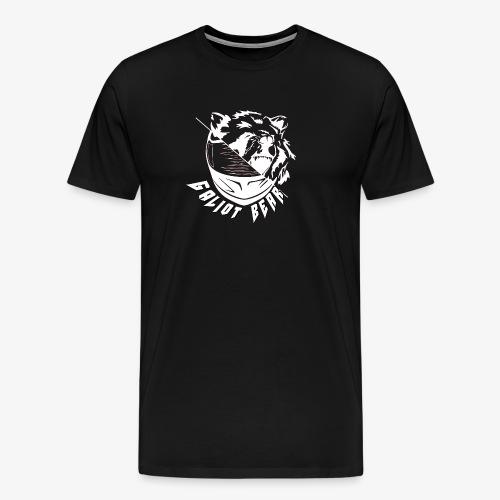Galiot Bear Logo weiß - Männer Premium T-Shirt