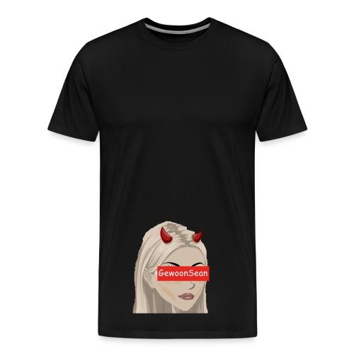 Gewoonsean Tshirt - Mannen Premium T-shirt