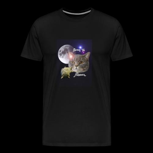 Sieni- muki erilaisille juomaseoksille - Miesten premium t-paita