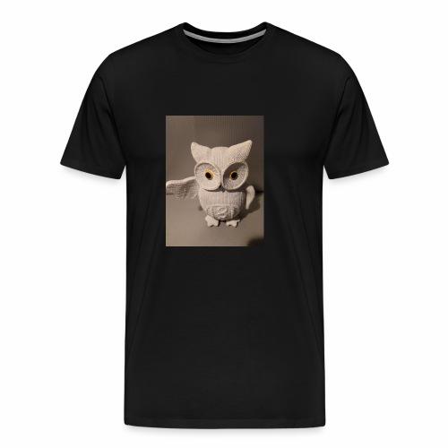 Die Beat Eule - Männer Premium T-Shirt