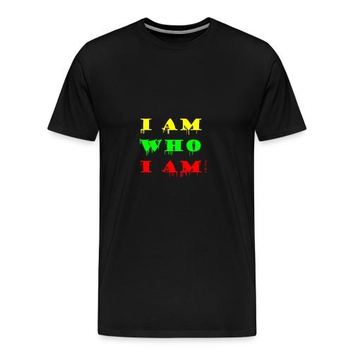 Je suis qui je suis - T-shirt Premium Homme