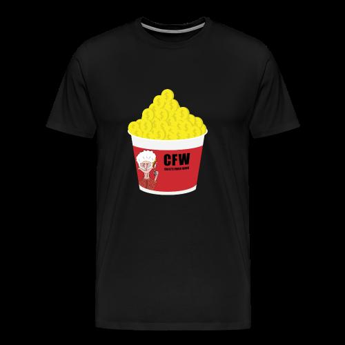 FIRED WIN - Premium-T-shirt herr