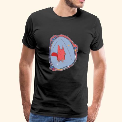 Fox Sketch - Männer Premium T-Shirt