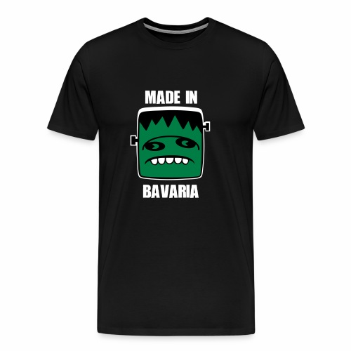 Fonster weiß made in Bavaria - Männer Premium T-Shirt