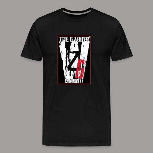 Wij zijn Gabbers label2 - Männer Premium T-Shirt