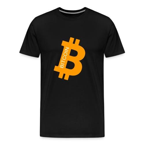Bitcoin Orange - Männer Premium T-Shirt