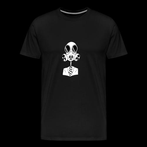 skullmask - Premium-T-shirt herr