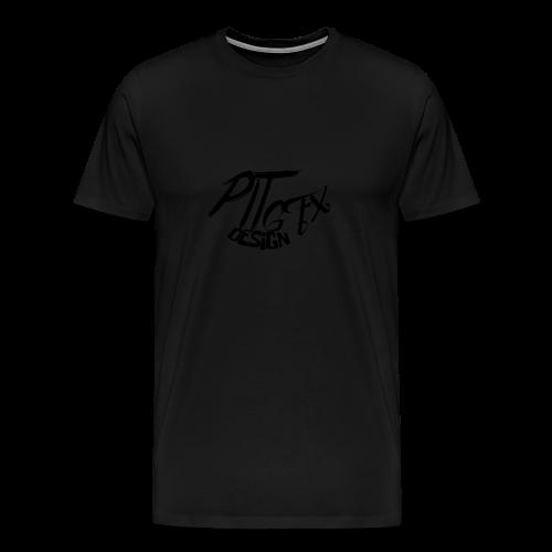 PitGFX Design Official T-Shirt - Maglietta Premium da uomo