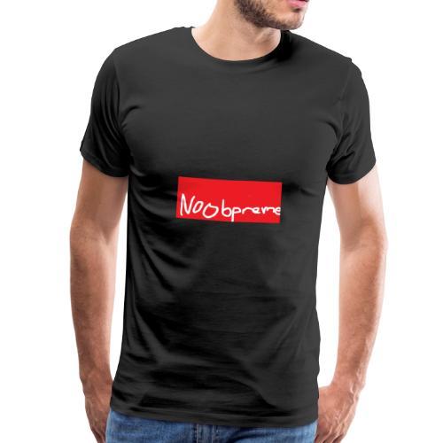 Noobpreme Red White - Männer Premium T-Shirt