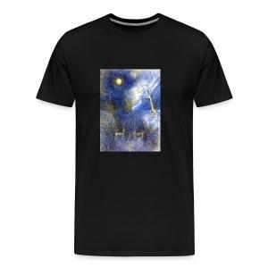 In Night On Meadow - Koszulka męska Premium
