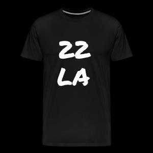 22 LA - Männer Premium T-Shirt