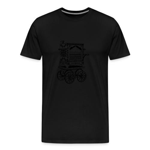 Drehorgel - Männer Premium T-Shirt