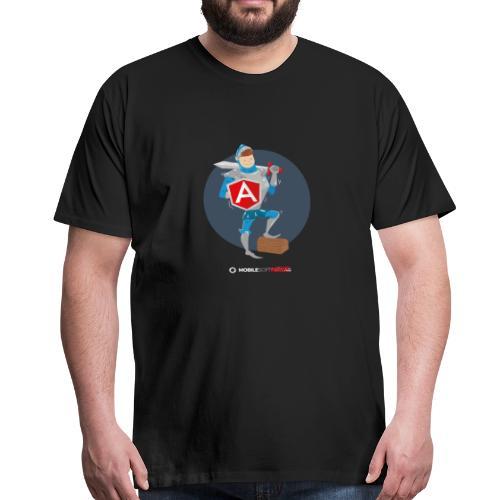 Tapferer Ritter - Männer Premium T-Shirt