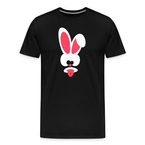 Frecher Hase - Männer Premium T-Shirt