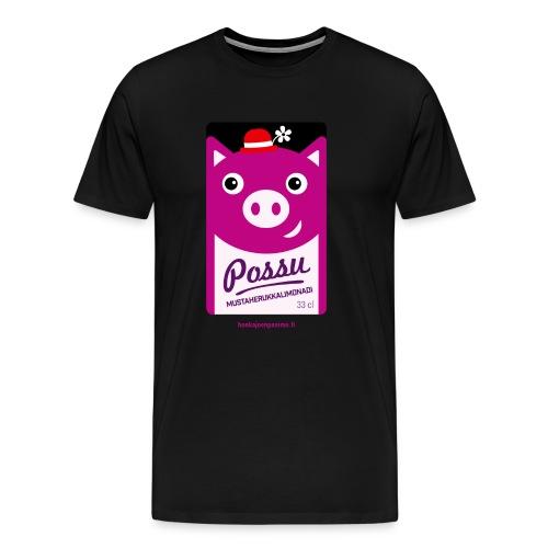 Possu - Miesten premium t-paita