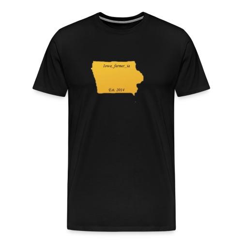 Iowa_Farmer_IA - Men's Premium T-Shirt