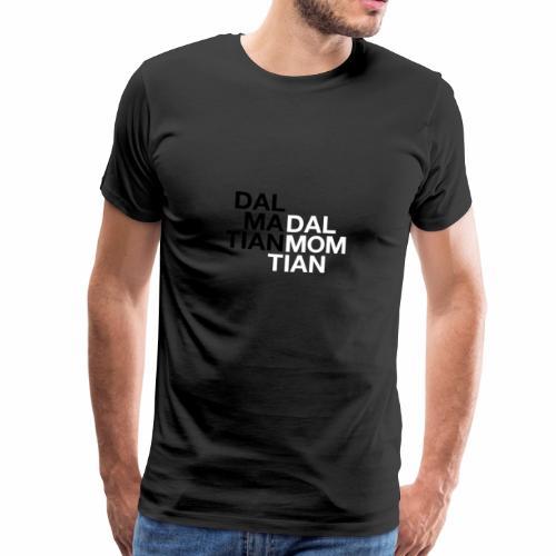 Dalmatian Mom - Premium-T-shirt herr