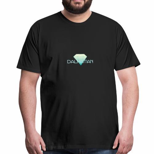 Dalmatian Diamond - Premium-T-shirt herr