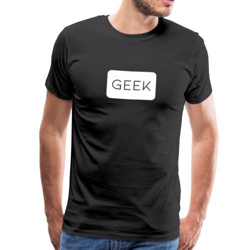 Camiseta Friki color blanco - Camiseta premium hombre