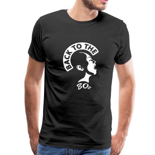80s Music T-Shirt ✫ Back to the 80's - Männer Premium T-Shirt