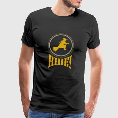 Halloween - Hexe - Männer Premium T-Shirt