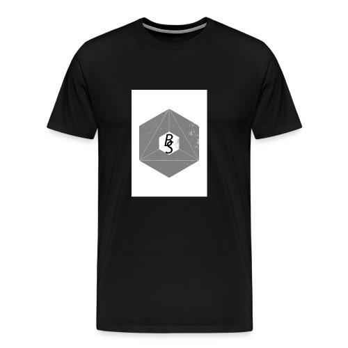 BS logo - Premium T-skjorte for menn