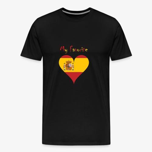 Mein Favorit T-Shirt Spanien - Männer Premium T-Shirt