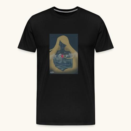 Femme en verre - T-shirt Premium Homme