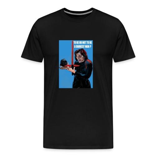 visuel tee shirt kylo to be or not a darkest man - T-shirt Premium Homme