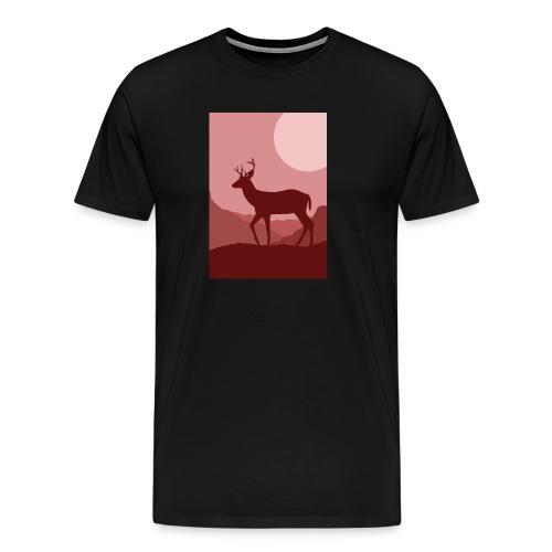 deerprint - Männer Premium T-Shirt