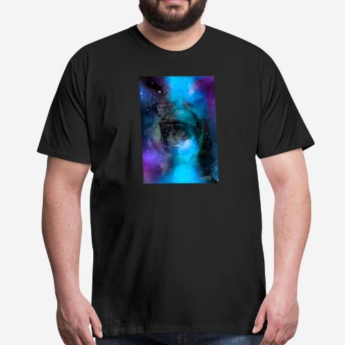 Ape in space - Koszulka męska Premium