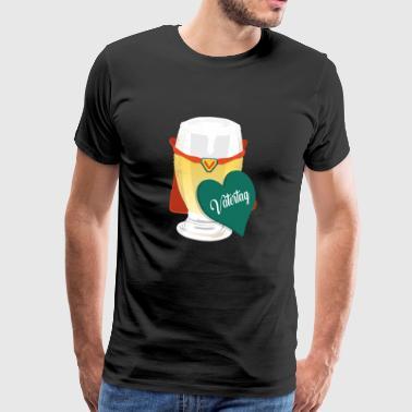 Farsdag - Premium T-skjorte for menn