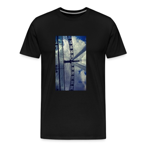London eye Scratched - Camiseta premium hombre