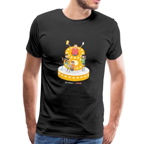 8 Jahre MSWAG - Männer Premium T-Shirt