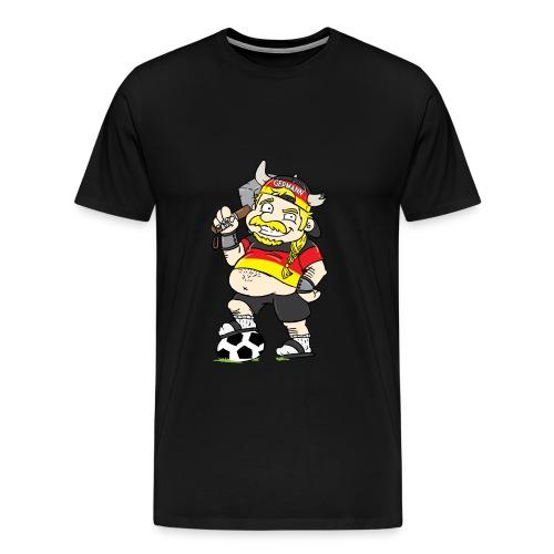 Hermann-Der-Germann Fussball - Fanshirt - Männer Premium T-Shirt