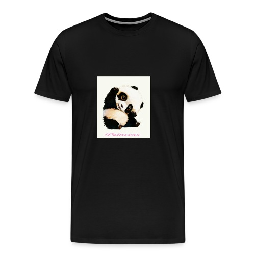 Princesse panda - T-shirt Premium Homme