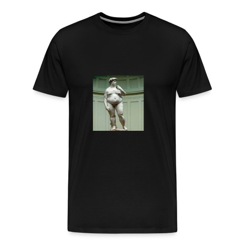 kong david - Herre premium T-shirt