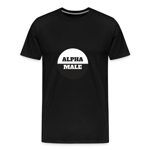 Alpha Male - Miesten premium t-paita
