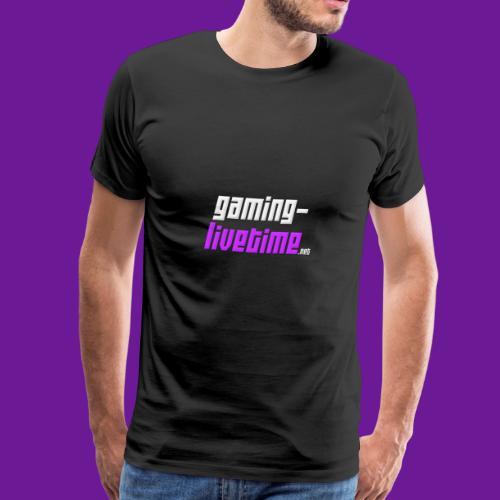 Gaming-livetime.net logo - Männer Premium T-Shirt