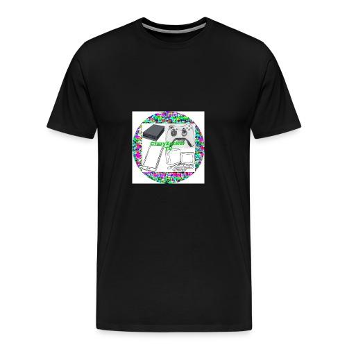 CrazyZocker TV's Kanalogo - Männer Premium T-Shirt