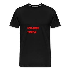 blood - Premium T-skjorte for menn